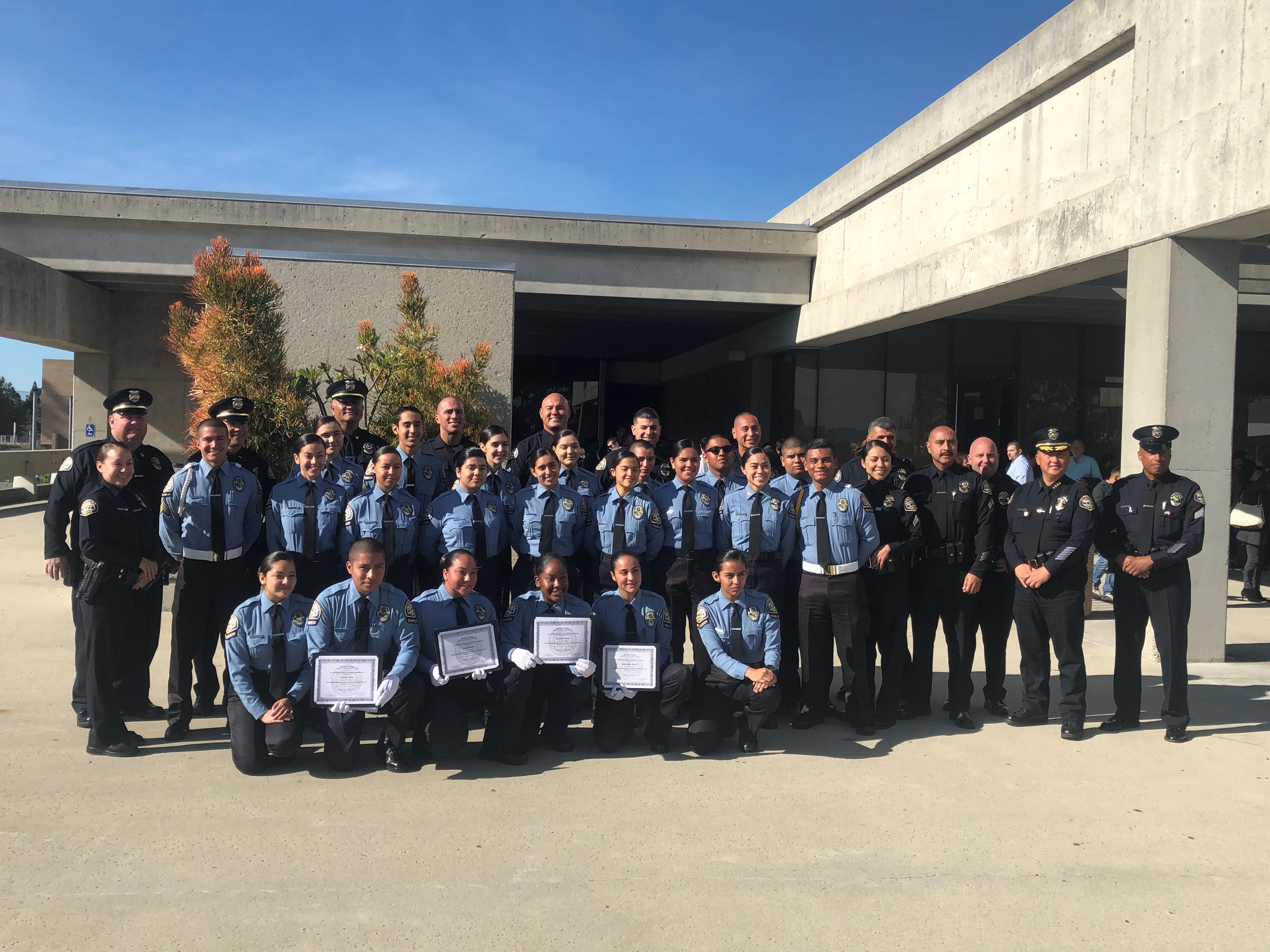 Gardena Police Department Online | » Explorers